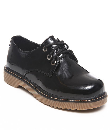 La Galleria Girls Black Cookie Oxford (11-4)