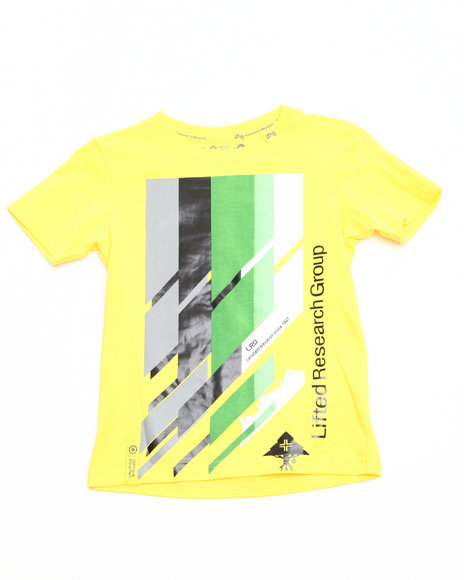 LRG Boys Yellow Research Icon Tee (4-7)