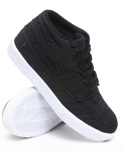 Rocawear Men Black Roc The Boat Sneakers