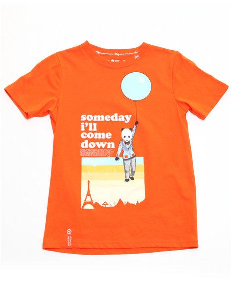 LRG Boys Orange Cloud 47 Tee (8-20)