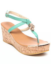 Fashion Lab - Waverly Skull Hit Wedge