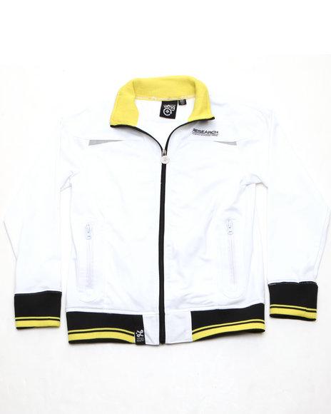 LRG Boys White Lrg Track Jacket (8-20)