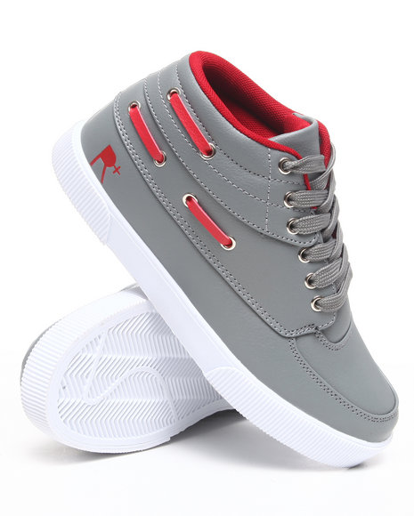 Rocawear Men Grey,Red Roc The Boat Sneakers