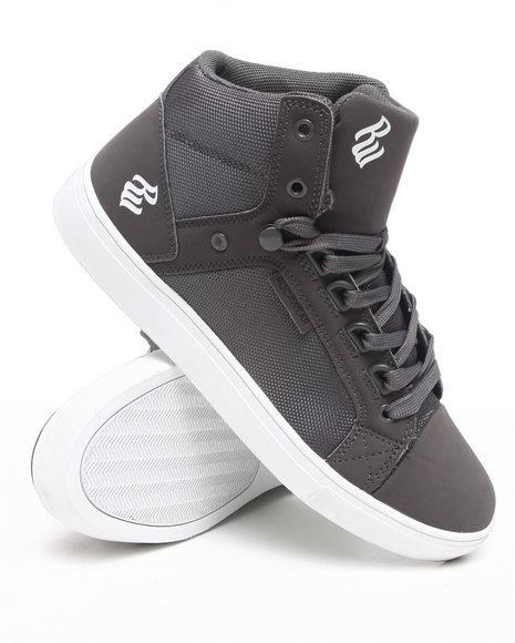 Rocawear Men Grey City Roc Hi Sneakers