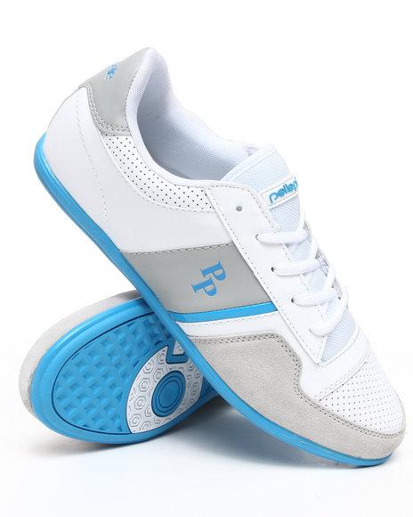 Pelle Pelle Men Blue Sole Low Top Sneaker