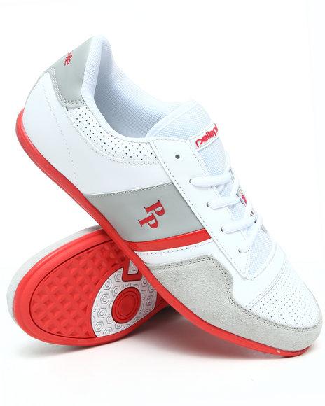 Pelle Pelle Men Red Sole Low Top Sneaker