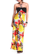 Women - The Leaf Halter Maxi Dress