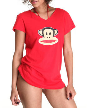 Paul Frank - Red Cover up Open back Dress