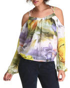 Women - Cold Shoulder Top