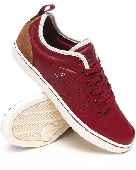 Adidas Men Maroon Ar D1 Lo Sneakers