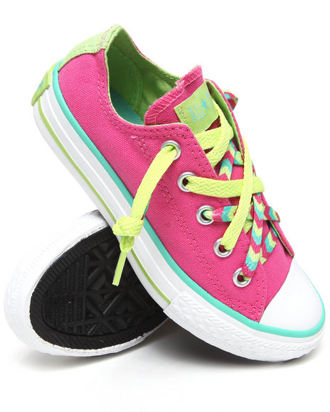 Converse Girls Pink Chuck Taylor All Star Kriss N' Kross (11-3)