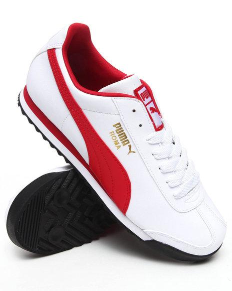 Puma Men White Roma Sneakers