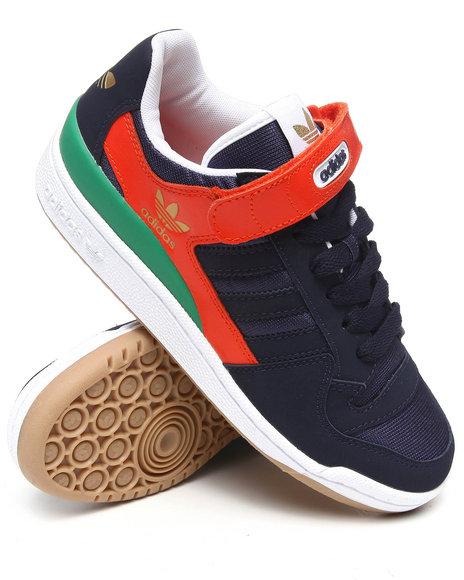Adidas Men Navy Forum Lo Sneakers