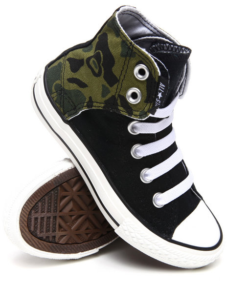 Converse Girls Camo Chuck Taylor All Star Easy (11-6)