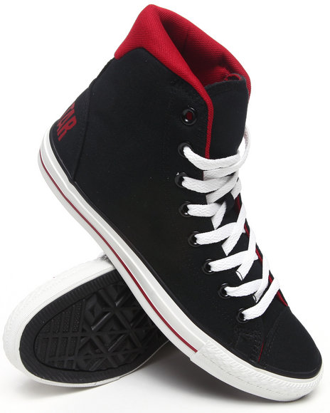Converse Men Black Chuck Taylor All Star Extreme Hype Sneakers