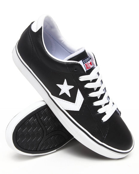 Converse Men Black Pro Leather Vulc Sneakers