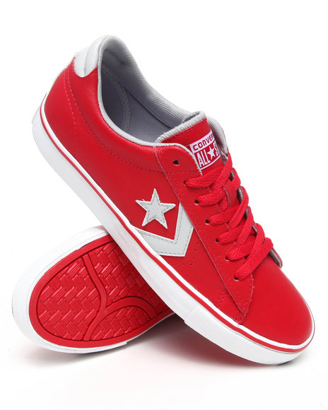 Converse Men Red Pro Leather Vulc Sneakers