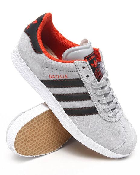 Adidas Men Grey San Francisco Giants Gazelle Sneakers