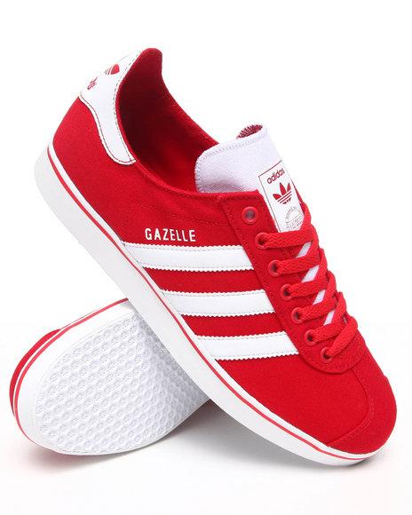 Adidas Men Red Gazelle Rst Sneakers