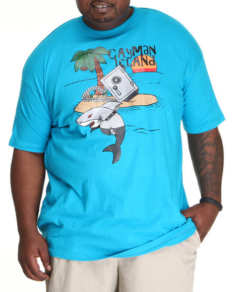 Buyers Picks - Men Teal Cayman Island Tee