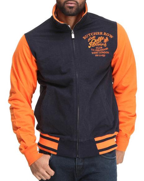 Pelle Pelle Men Navy Butcher Row Track Jacket