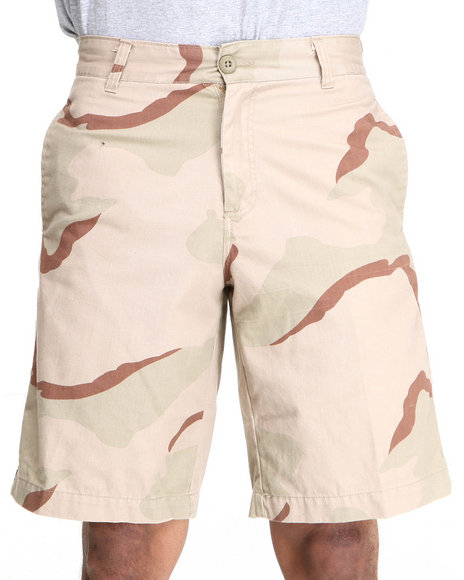 Rothco - Men Camo 5 Pocket Flat Front Shorts