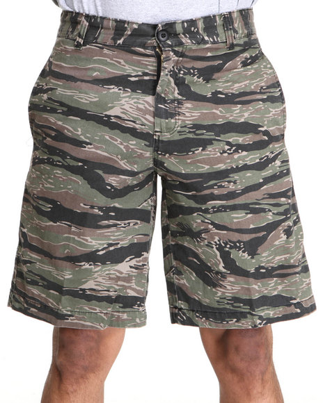 Rothco - Men Camo Tiger Stripe Camo 4 Pocket Slim Fit Shorts