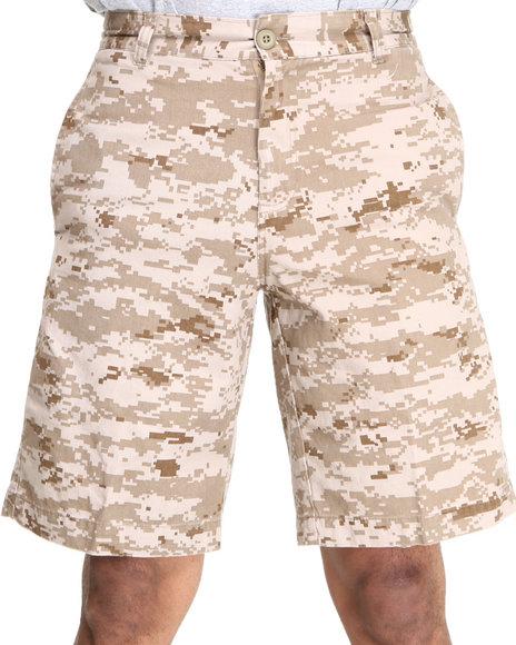 Rothco - Men Camo 5 Pocket Flat Front Shorts