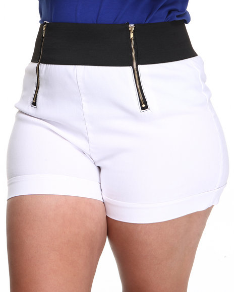 Womens Fashion Lab Shorts, Fashion Lab Clothing at ColdBling.com