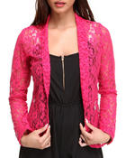 Outerwear - Blair Crochet Blazer