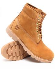 "Footwear - WHEAT NUBUCK 6"" BASIC BOOTS"