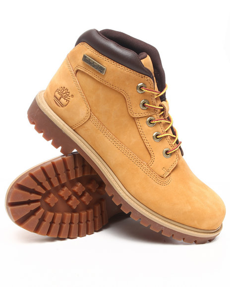 Timberland - Men Wheat Nm Camp Leather Boots