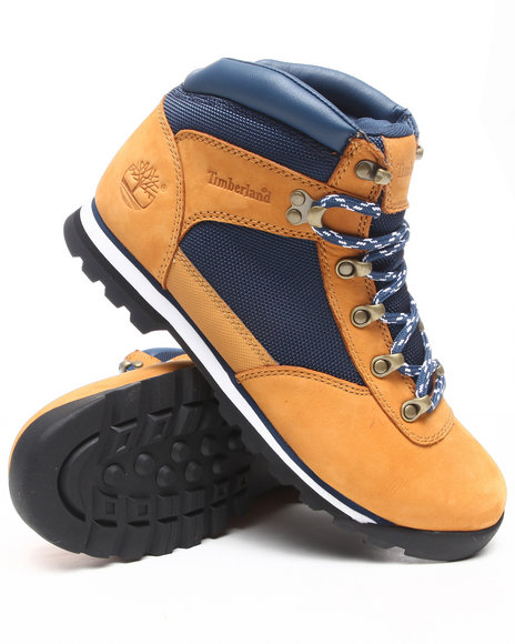 Timberland Men Blue,Wheat Blueberry Muffin Stamford Trekker Boots
