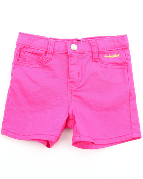 Baby Phat Girls Pink Twill Shorts (2T-4T)