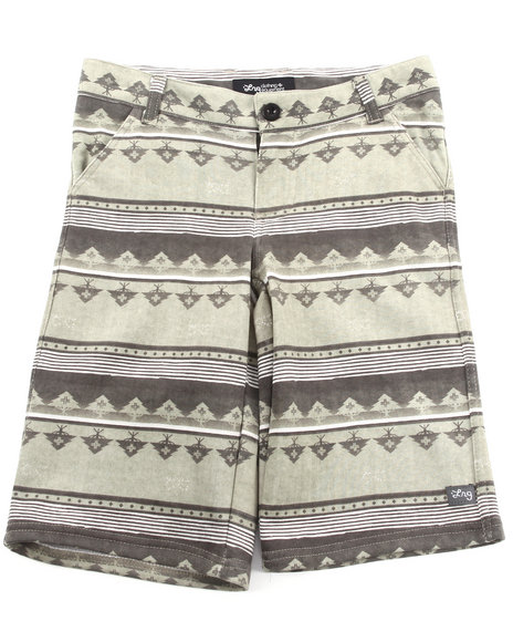 LRG Boys Grey Salamander Boardwalk Short (8-20)