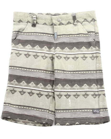 LRG - Boys Grey Salamander Boardwalk Short (4-7)