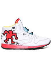 -FEATURES- - Keith Haring Classic Leather Mid Lux