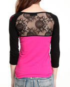 Long-Sleeve - 3/4 Sleeve Top