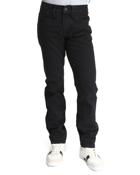 Buyers Picks Men Black Jet Black Wash Skinny Fit Denim Jeans