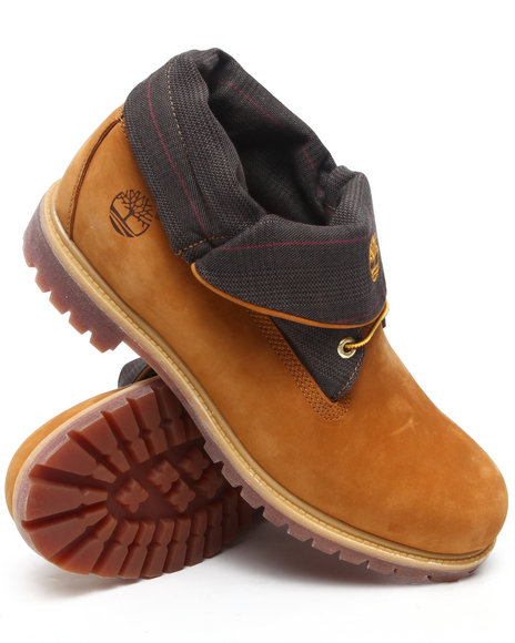 Timberland Men Wheat Timberland Icon Roll Top Boots