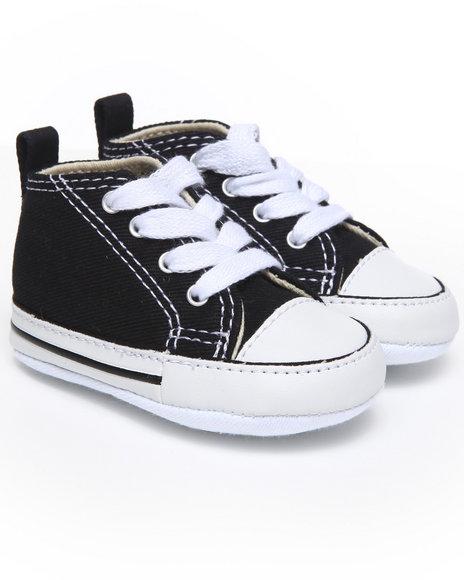 Converse - Boys Black Chuck Taylor Crib Bootie (Infant)