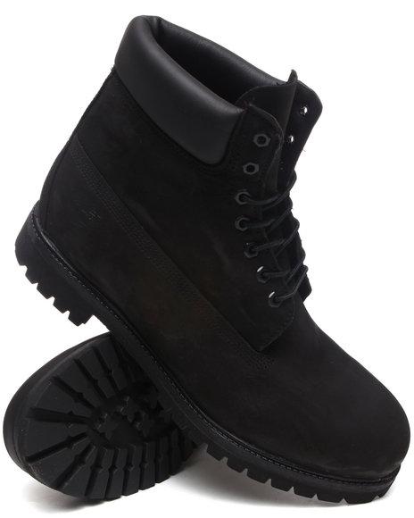 Timberland Men Black 6'' Premium Waterproof Boots