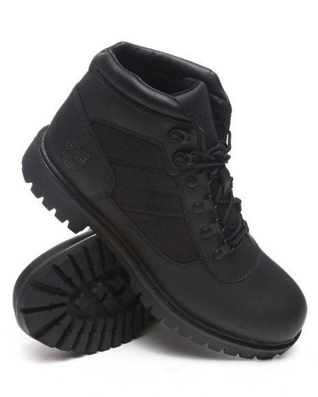 Timberland Men Black Nm Camp Boots