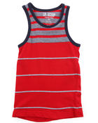 Boys - MULTI STRIPE TANK (4-7)
