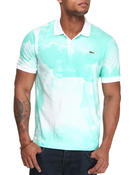 Lacoste Live - L!Ve S/S Water Color Print Pique Polo