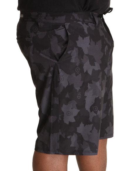 LRG Men Black,Camo Core Collection Classic Cargo Shorts