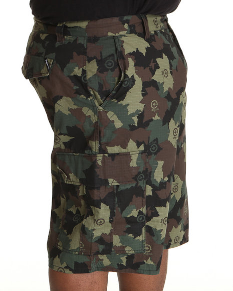 LRG Men Camo Core Collection Classic Cargo Shorts