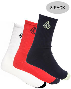 Volcom - Colors 3-Pack Socks