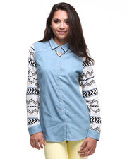DJP Boutique - Native Button Down