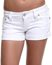 True Religion - Allie Thigh High Cuffed Short